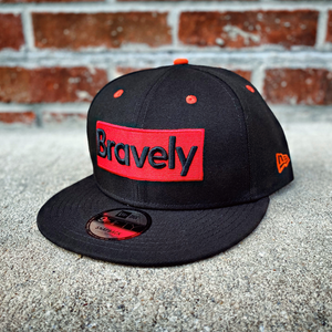 Bravely x New Era Snapback Cap: Knockout