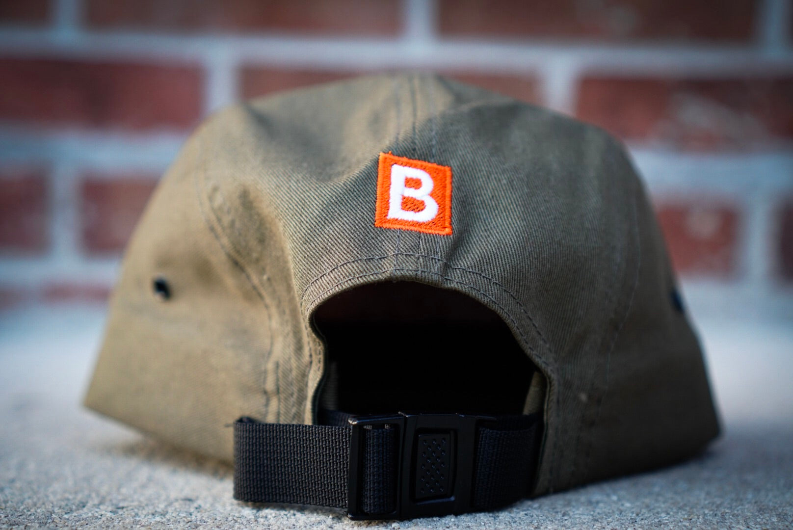 Five Panel Box Logo Cap