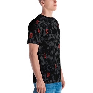 All-Over-Print Digi-Camo Mini Box Logo T-shirt
