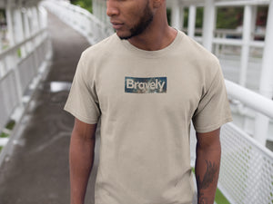 Bravely Box Logo Galaxy T-Shirt