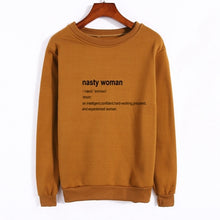 Nasty Woman Crewneck Sweatshirt