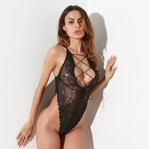 Fantasia Lace-Up Bodysuit