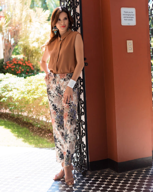 Madrid Floral Pants