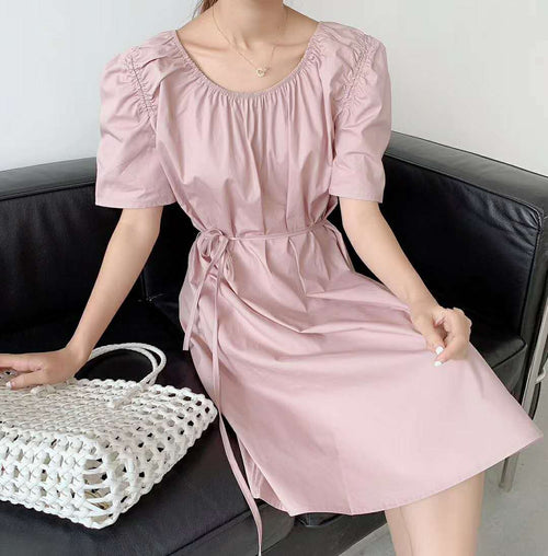 Rocha Dress Mauve Pink