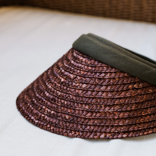 Myrelle Brown Visor Hat