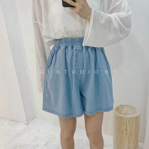 Ave Shorts- Chambray