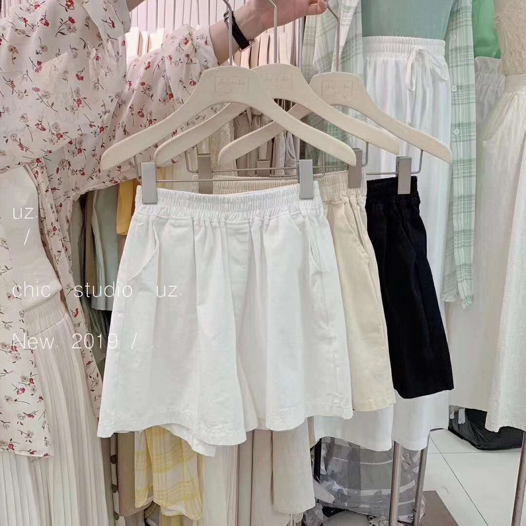 Ave Shorts- White