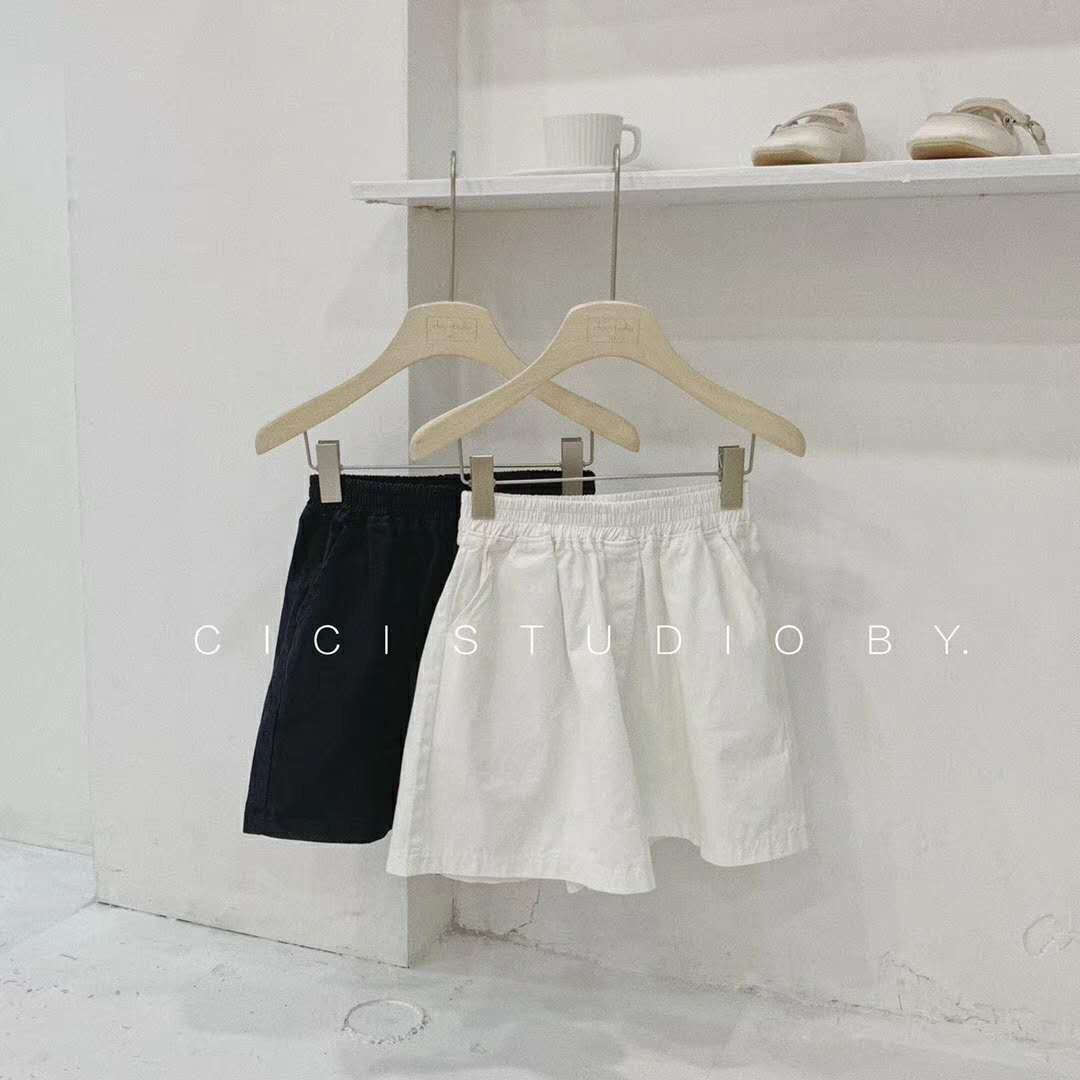 Ave Shorts Beige/ Black