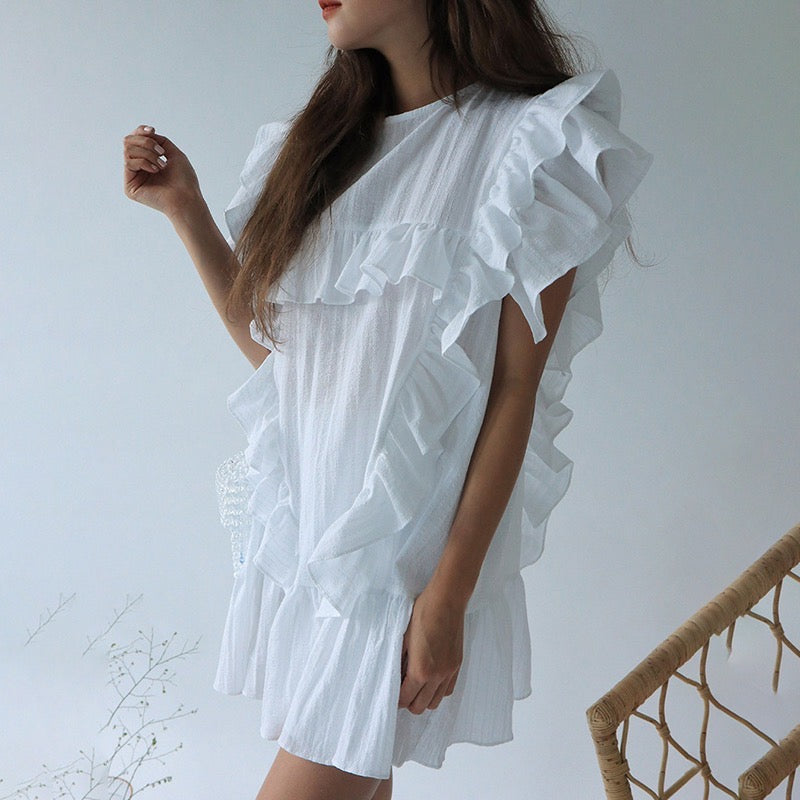 Tove Ruffle Dress