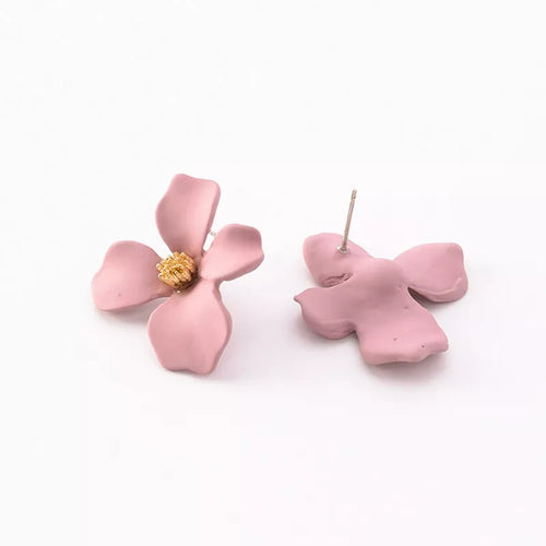 Stein Earrings Blush Pink