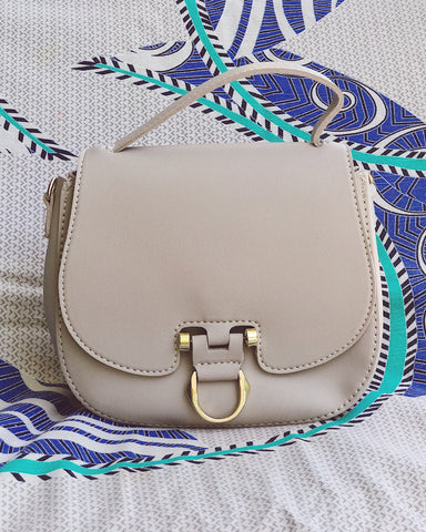 Petra Two Toned Shoulder Bag
