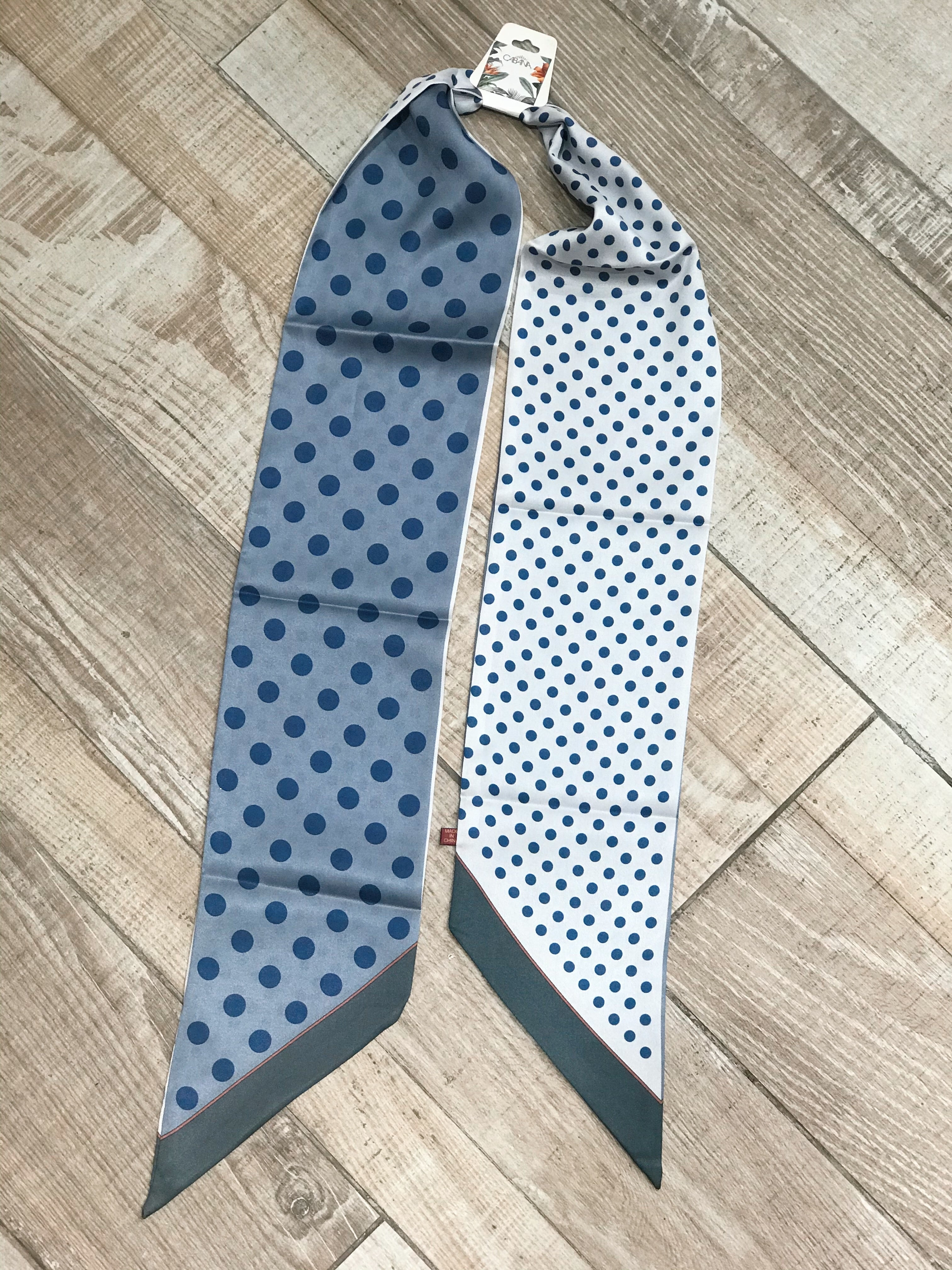 Paris Scarf- Polka (colors available)