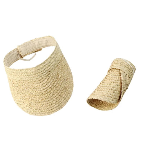 Bondi Raffia Foldable Straw hat