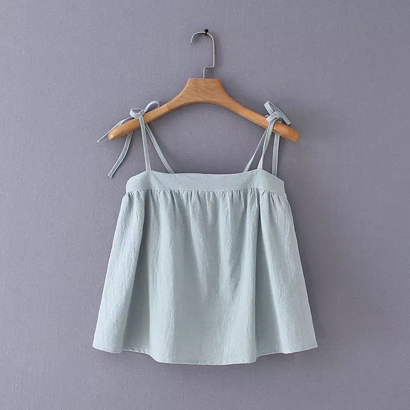 Zeri String Top Mint