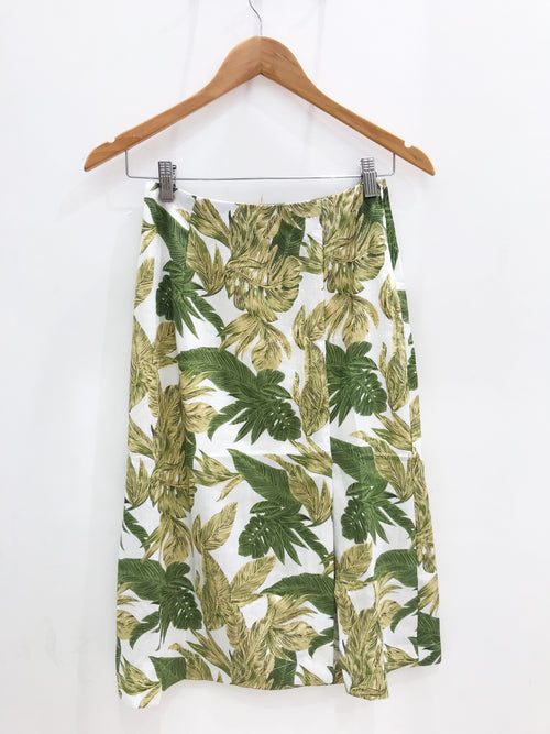 Camila Tropical Linen Skirt