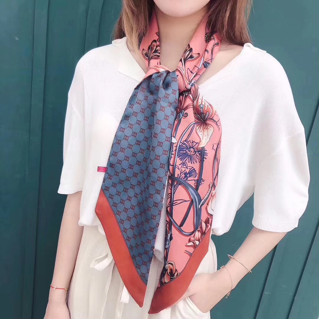 Paris Scarf- Horse (colors available)