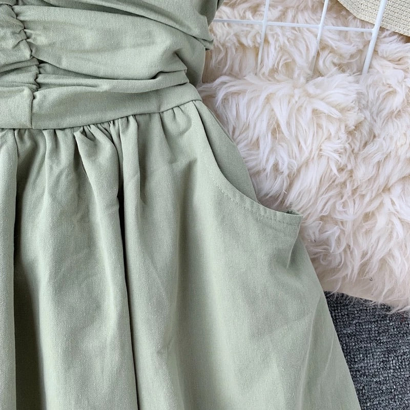 Lucca Tube Dress Green