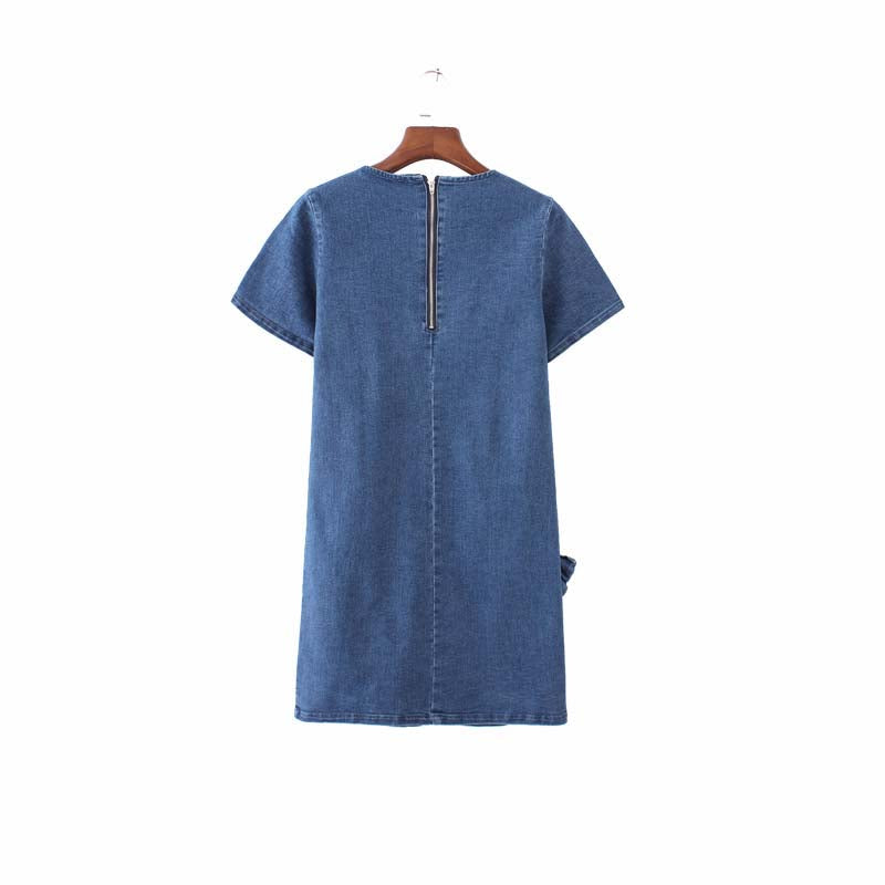 Bailey Bow Denim Dress