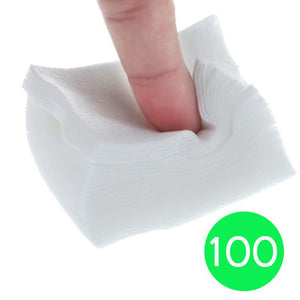 Nail Polish Remover Cotton Pad (100 Per Pack)