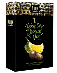 Freeze Dried Durian Milk Chocolate Bites