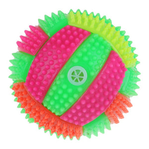 Spiky Durian Shape Volley Ball With LED Light & Sound