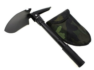 Detachable Gardening Shovel Spade w/ Storage Bag