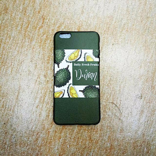 Durian iPhone Casing (Green)