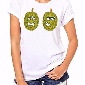 Short Sleeve Durian T-Shirt Women