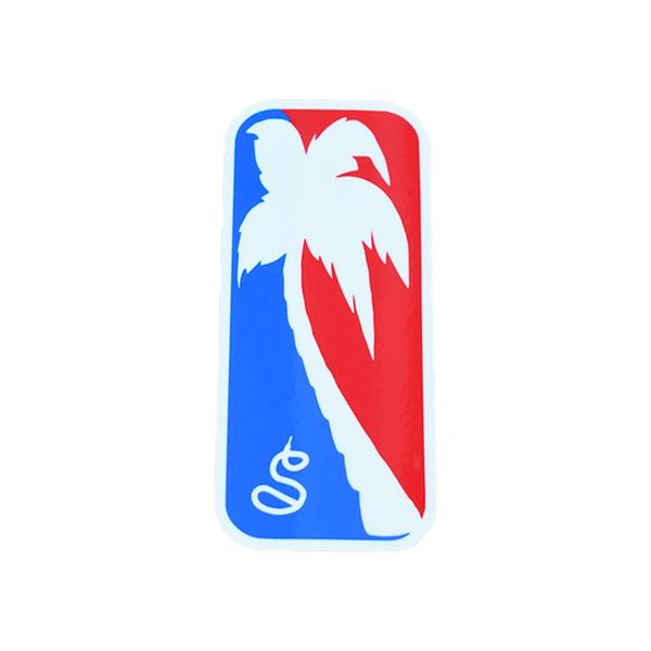 The Palm Logo Sticker