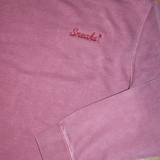 The Embroidered Script Crewneck