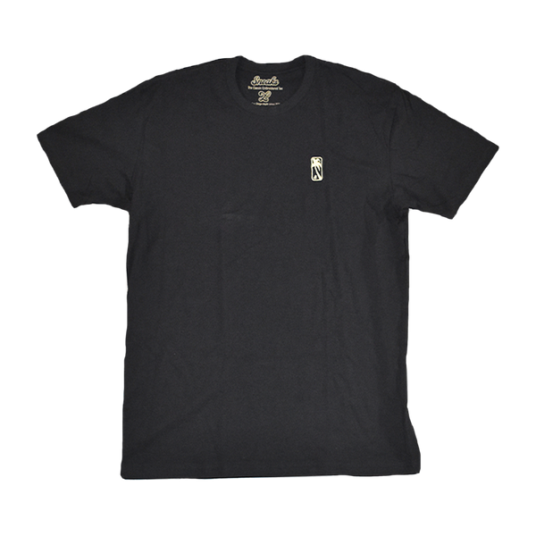 Gold Luxe Classic Embroidered Tee