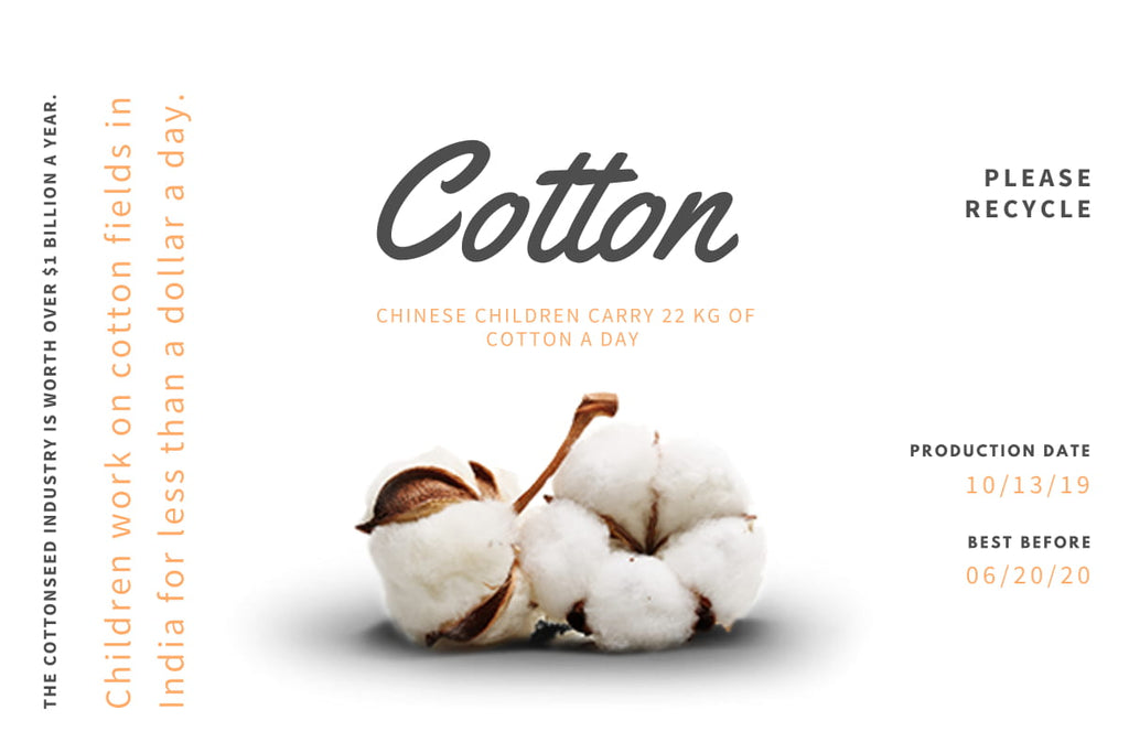 Tender Hands Behind Our Cotton