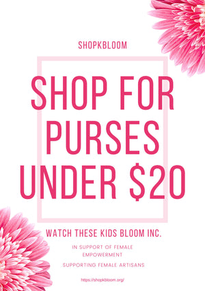 Shop for a Purse under $20 in Support of Female Artisans