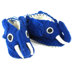 Blue Elephant Zooties Baby Booties - Silk Road Bazaar