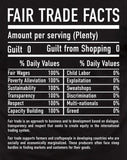 Unisex Fair Trade Tee Shirt Fair Trade Facts - Freeset