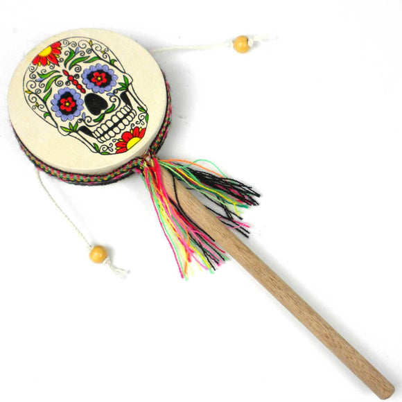 Damasas Skull Spinner Drums - Jamtown World Instruments