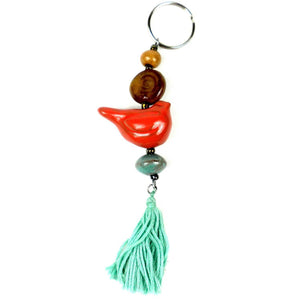 Boho Bird Keychain - Imani Workshop (J)