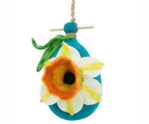 Felt Birdhouse - Daffodil Handmade and Fair Trade