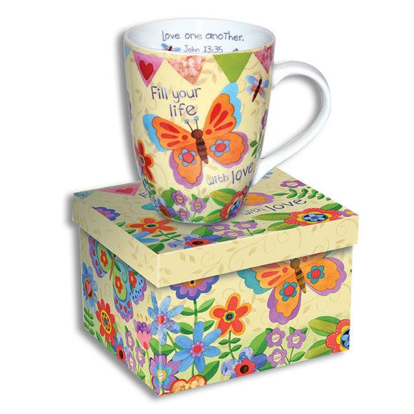 Scripture Mug - Fill Your Life with Love