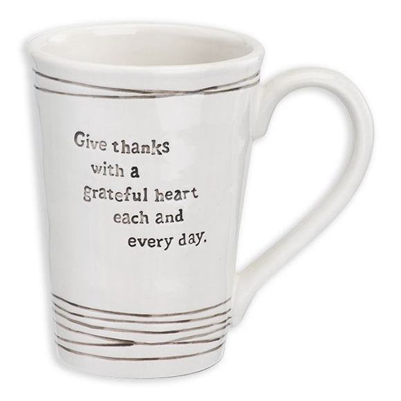 Mug & Coaster Set - Give Thanks