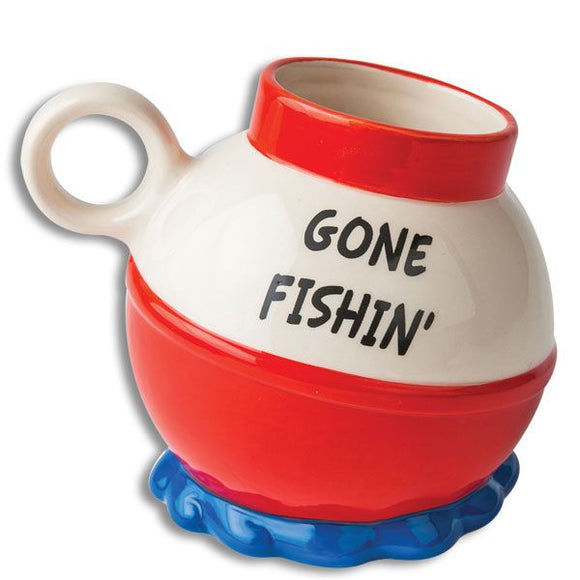 Gone Fishin Coffee Mug