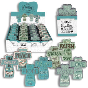Grab N Go Gift - Cross w/ Inspirational Note