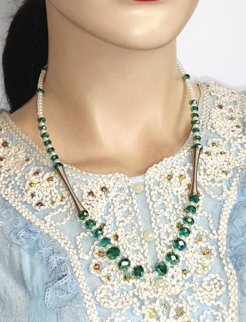 Western Style Beaded Necklace