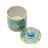 Blue Pottery Canister - Turquoise - Matr Boomie (Pottery)