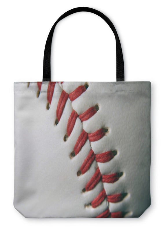Tote Bag, Baseball Macro