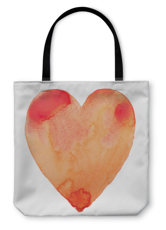 Tote Bag, Hand Draw Watercolor Aquarelle Paint