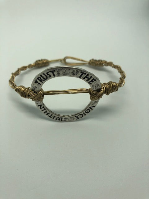 Trust The Voice Within Bracelet