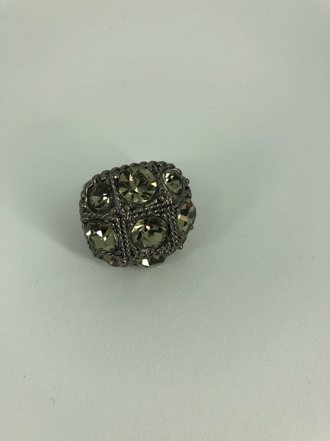 Metal Stone Ring (USED)
