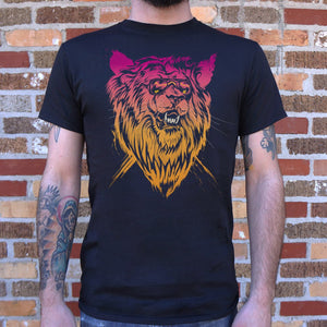 Mens Lion-el Rich-eyes T-Shirt