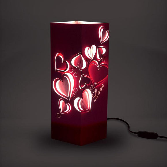 Love Shadow Illusion Lamp